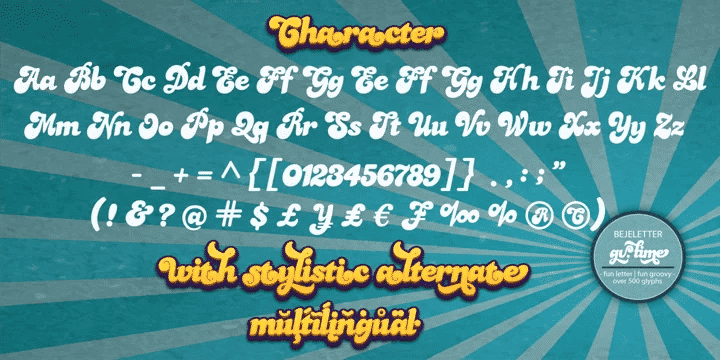 Gv Time Regular Font