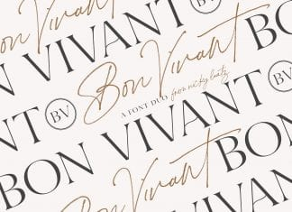 Bon Vivant Font
