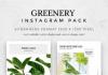 Greenery – Instagram Pack