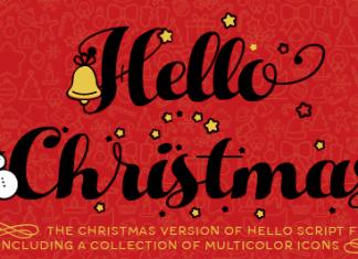 Christmas Icons Font