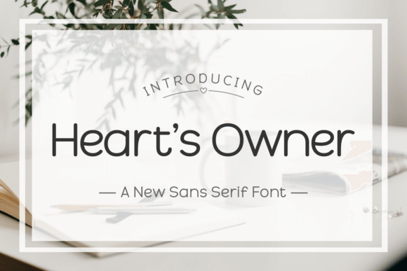 Heart's Owner Font