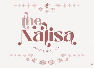 Nalisa Font - Modern Beauty Font