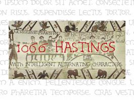 1066 Hastings Font