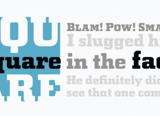 Squareface Font