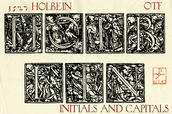 1523 Holbein Font