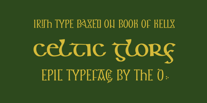 Keltichi Font