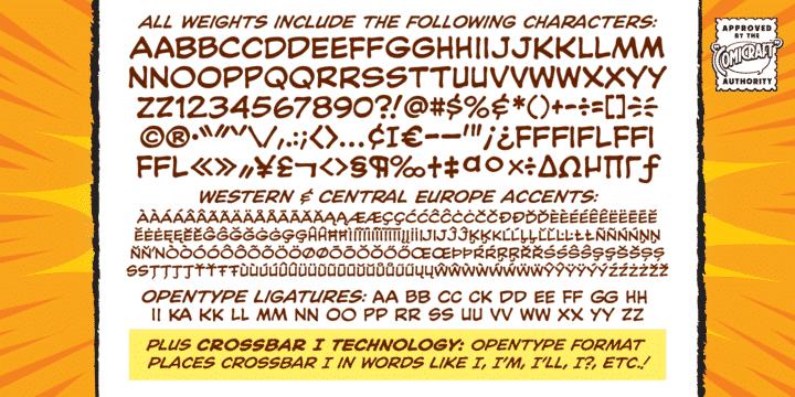 CC Blah Blah Upper Font