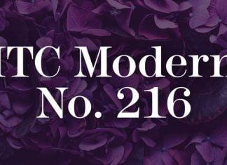 ITC Modern No. 216 Font