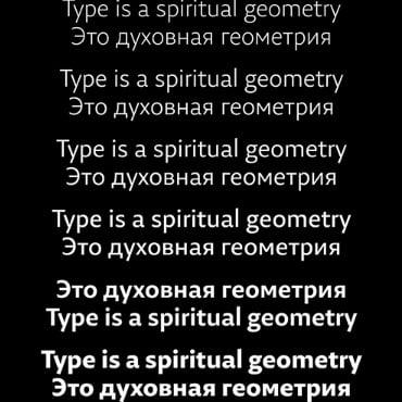 29LT Zarid Sans LC Font Family - Cyrillic & Latin