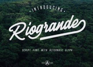 Riogrande script Font
