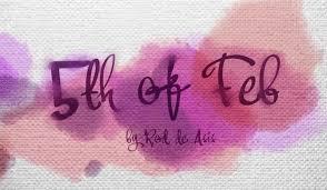 5th of Feb Font