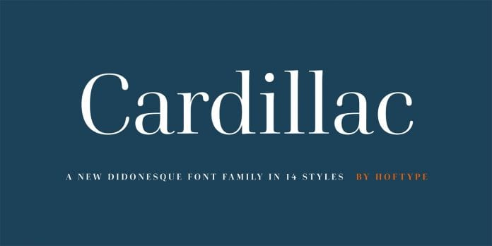Cardillac Font
