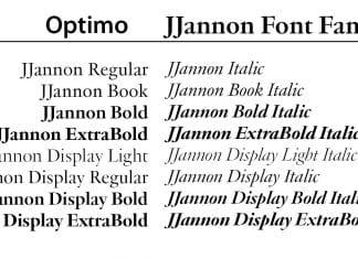 JJannon Font
