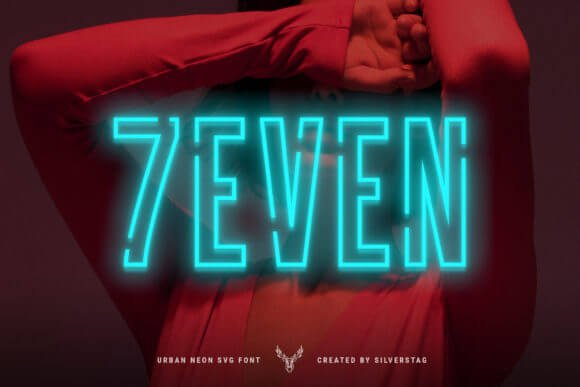 7EVEN Font