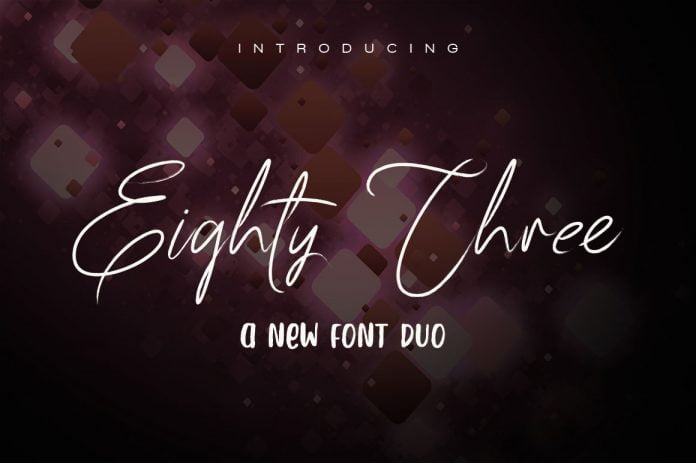 83 Script Font