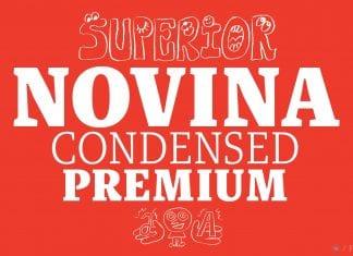Novina Condensed Premium Font