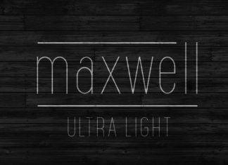 Maxwell Sans UltraLight Font