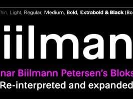 A2 Biilmann Font Family