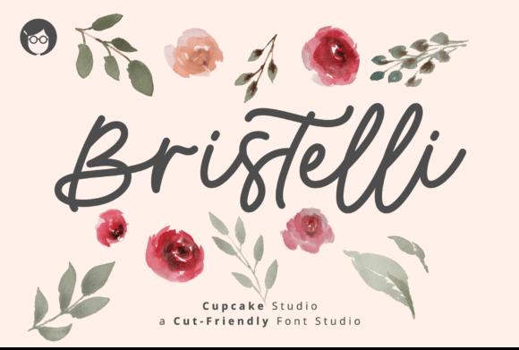 AL Bristelli Font