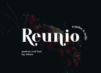 ARK Reunio Font