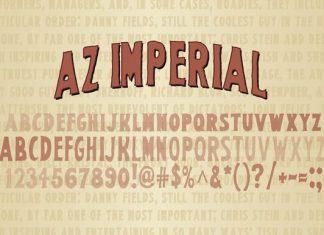 AZ Imperial Font
