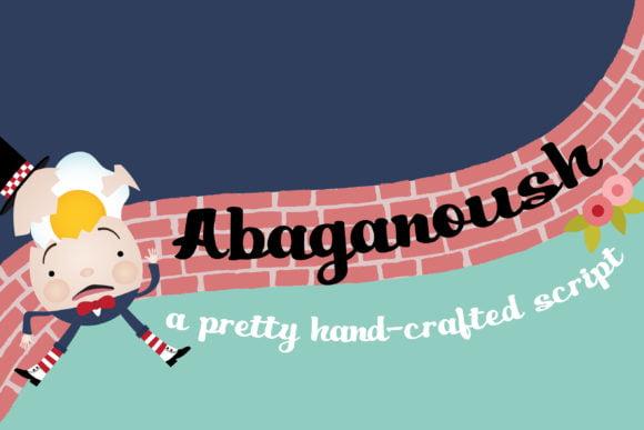 Abaganoush Font