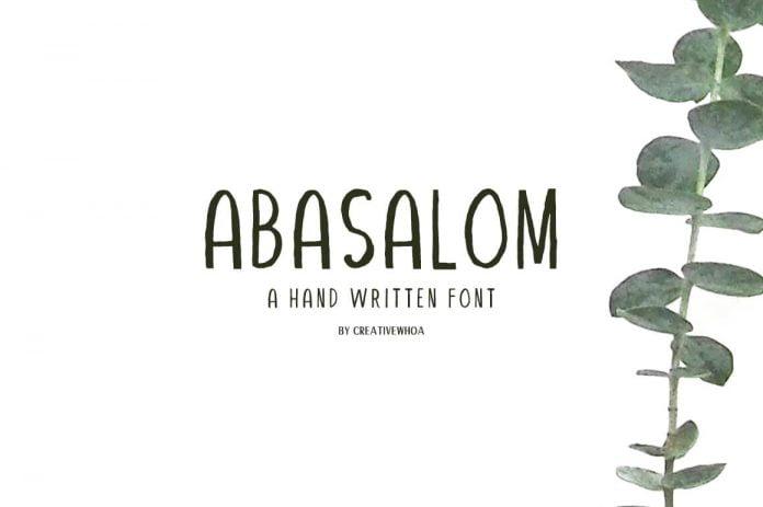 Abasalom Font