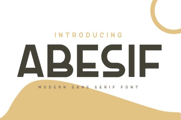 Abesif Font