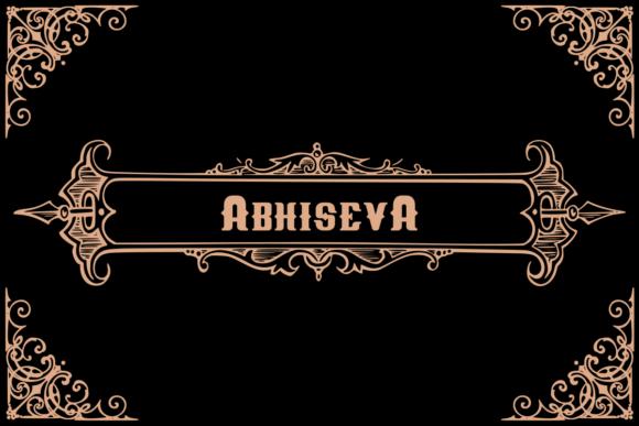 Abhiseva Font