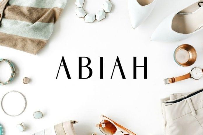 Abiah Font