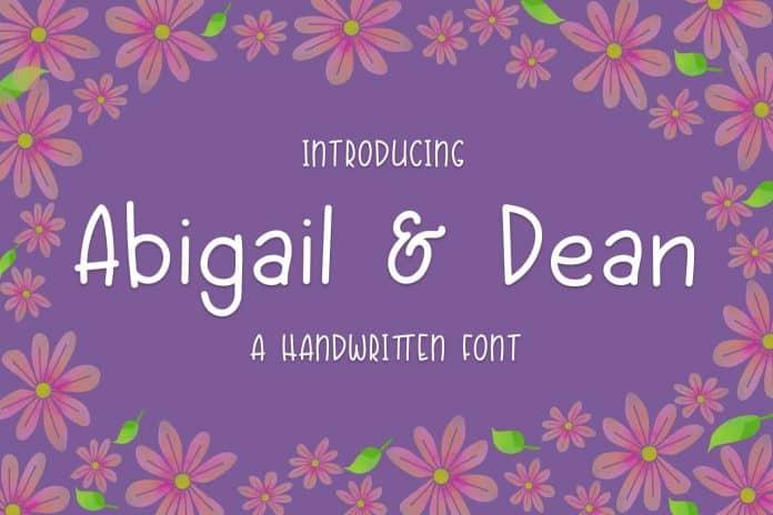 Abigail & Dean Font