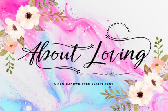 About Loving Font