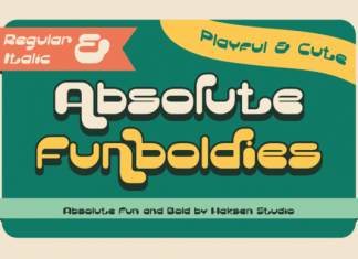Absolute Funboldies Font