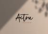 Acton Script Font