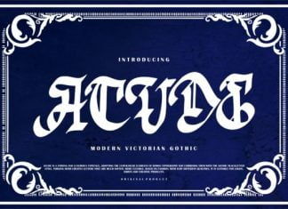 Acude Font