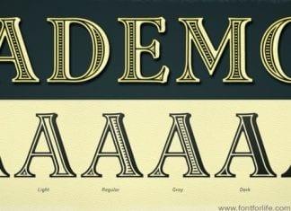 Ademo Font