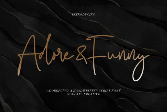 Adore&Funny Font