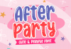 After Party Font