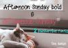 Afternoon Sunday Font