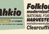 Ahkio Font