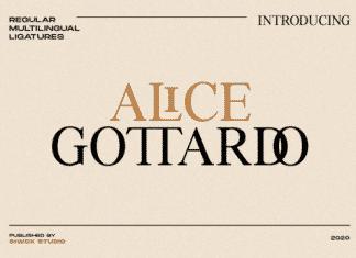 Aice Gottardo Font
