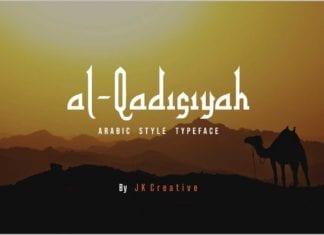 Al - Qadisiyah Font