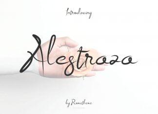 Alestraza Font