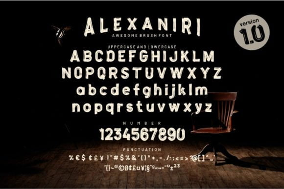 Alexaniri Font