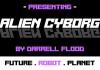 Alien Cyborg Font