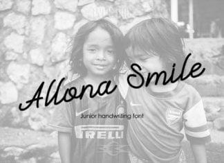 Allona Smile Font