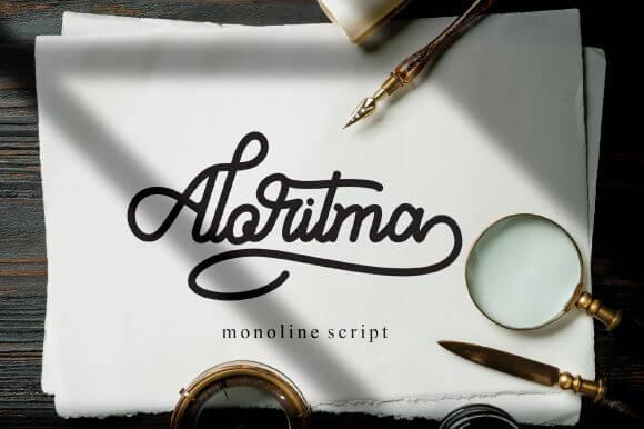 Aloritma Font