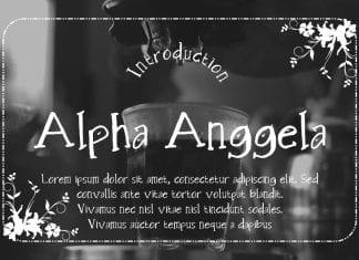 Alpha Anggela Font