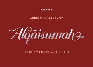 Alqaisumah Font