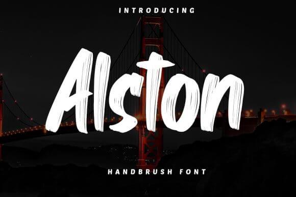 Alston Font